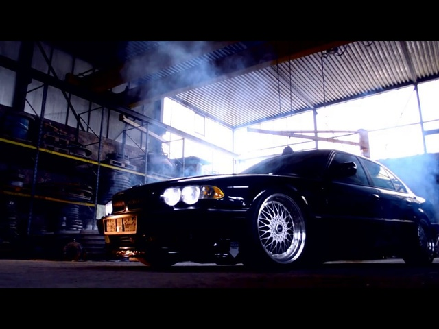 BMW e38 7Series / lowered Black Beauty (Teaser)
