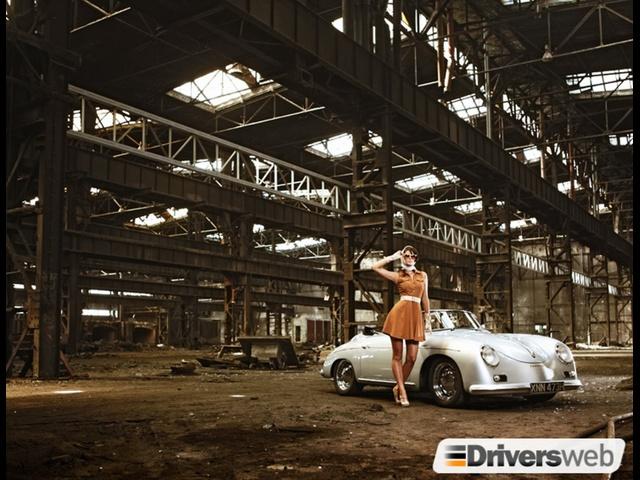 Porsche 356 Speedster Driversweb Backstage 2012