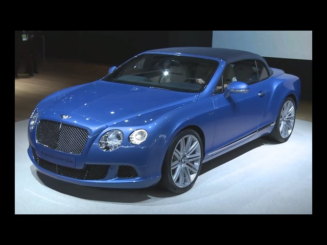 2014 Bentley Cabrio GT Speed HD Debut NAIAS Commercial Carjam TV HD Car TV Show 2014