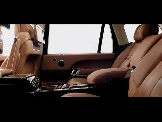 New Range <em>Rover</em> LWB Interior Autobiography HD Range <em>Rover</em> Black Edition Commercial Carjam TV HD 2015