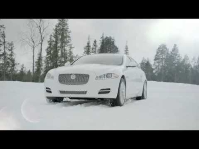 Jaguar AWD XJ + XF 2013 On Ice Commercial Carjam TV HD Car TV Show