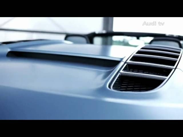 New Audi R8 GT Spyder 2011 Limited Edition In Detail TV Ad Car Commercial - Carjam Radio
