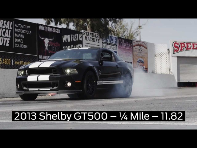 Ford Shelby GT500 2013 Launch Control Test Drag Strip Commercial Carjam TV HD Car TV Show