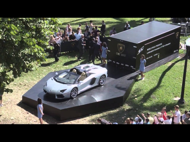 2013 <em>Lamborghini</em> Aventador Roadster LP 700-4 First Reveal Commercial Carjam TV Car TV Show