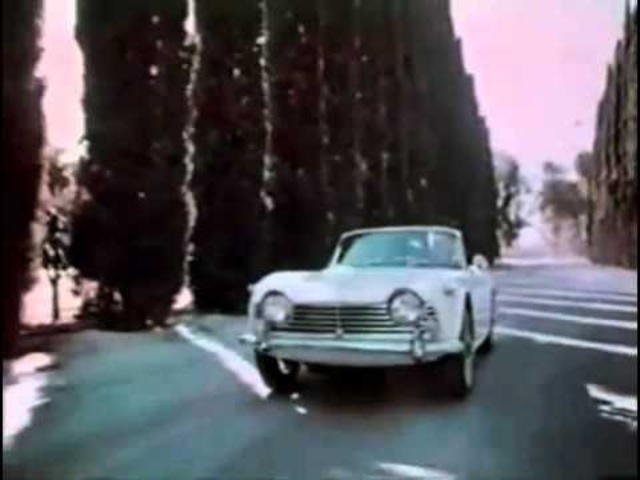 Triumph TR4 TV AD Original Classic Car Commercial CARJAM TV