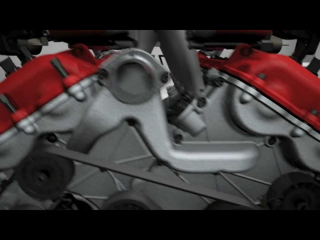 New <em>Ferrari</em> FF 2012 - V12 Engine Commercial - 2012 - Carjam Radio Show