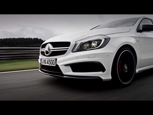 2013 <em>Mercedes</em> A Class AMG A45 In Detail Commercial 2013 A Class W176 Carjam TV HD Car TV Show
