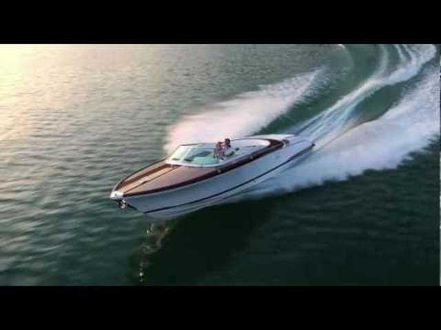 AquaRiva by Gucci Riva Boats On The Water Video Commercial CARJAM TV
