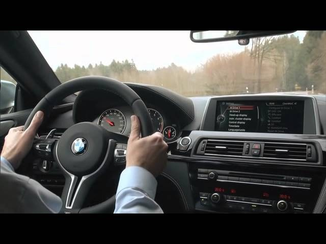 2013 <em>BMW</em> M6 4 Door Gran Coupe Interior Detail Commercial Carjam TV HD Car TV Show