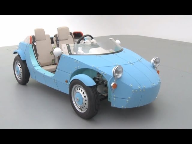 Toyota Camatte57s Three Seater Electric Car Commercial HD 3 Seater Sports Car Carjam TV HD