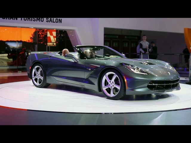 2013 Corvette Stingray Converible HD Geneva Motor Show Commercial Carjam TV HD Car TV Show