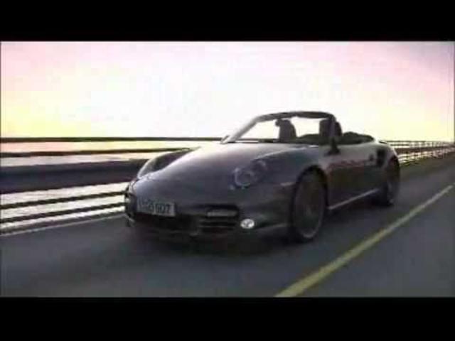 ☆ Porsche 911 Turbo Cabriolet Engine Start Driving In Detail -New Carjam Radio 2011
