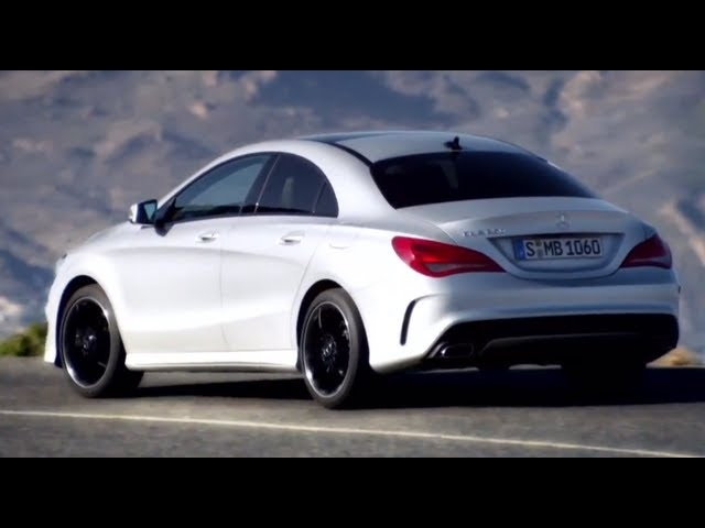2013 Brand New Mercedes CLA New Model First Commercial Carjam TV HD Car TV Show 2013