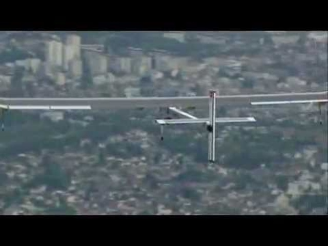 World Debut Solar Powered Airplane Solar Impulse Paris Air Show 2011 - Carjam Radio