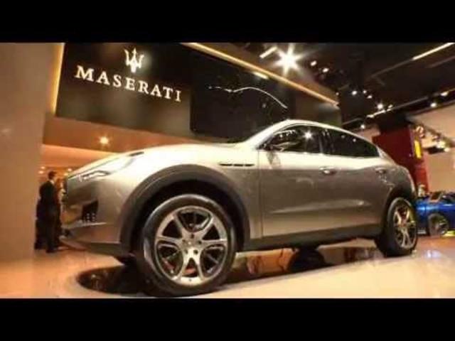Maserati SUV 2011 New Kubang In Detail Commercial Frankfurt Motor Show -Carjam Car Radio Show