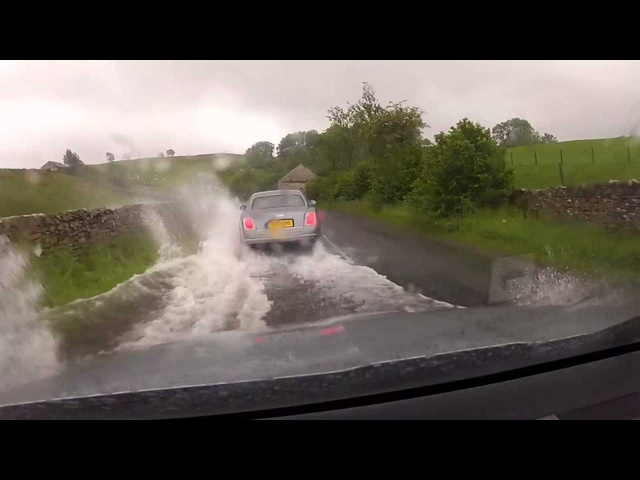 2014 <em>Bentley</em> Mulsanne Off Road Flooding Cool Commercial Carjam TV HD 2014 Car TV Show
