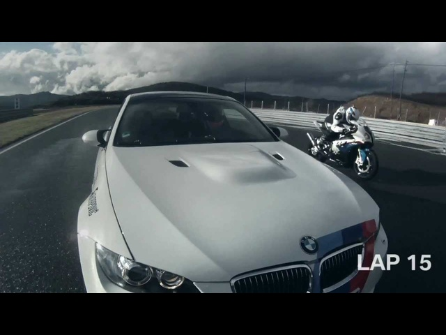 BMW M3 V BMW S1000 RR Drag Race Commercial Carjam TV HD 2013