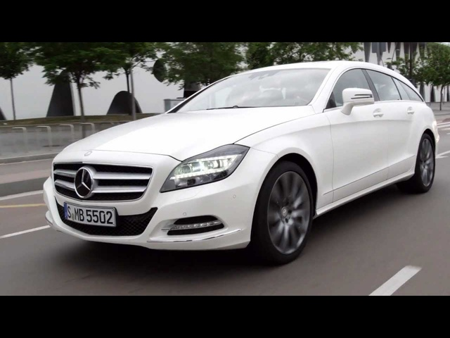 New <em>Mercedes</em> CLS Estate 2013 Shooting Brake Commercial Carjam Car Show TV HD