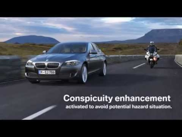 <em>BMW</em> Motorbike Overtaking Assist Commercial 2011 - Carjam Car TV Show