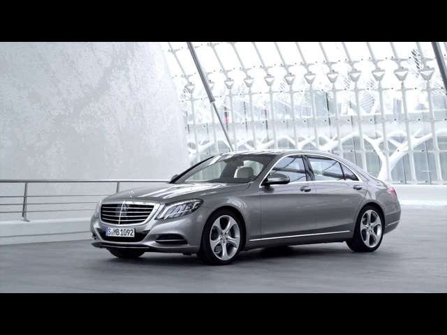 <em>Mercedes</em> S Class 2014 HD Exterior In Detail New S Class W222 Commercial Carjam TV HD