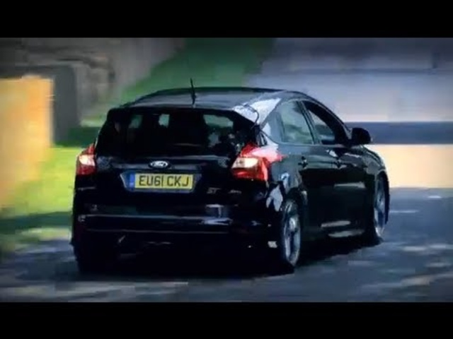 Ford Focus ST Vs <em>Jaguar</em> XFR 2013 Commercial Goodwood Carjam TV HD Car TV Show