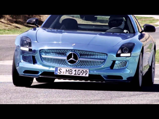 Most Poweful Merc Ever SLS AMG Electric Car 2013 Commercial <em>Mercedes</em> SLS Carjam TV Car Show HD