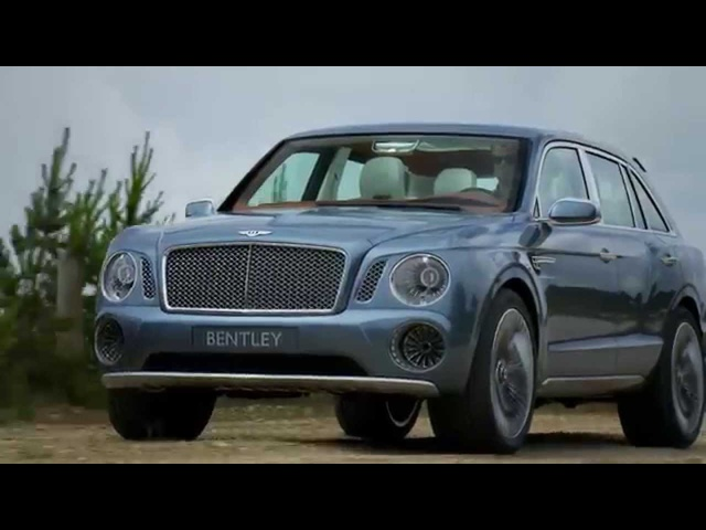 Bentley SUV 2014 Driven Commercial EXP 9F CARJAM TV HD 2014 Car TV Show