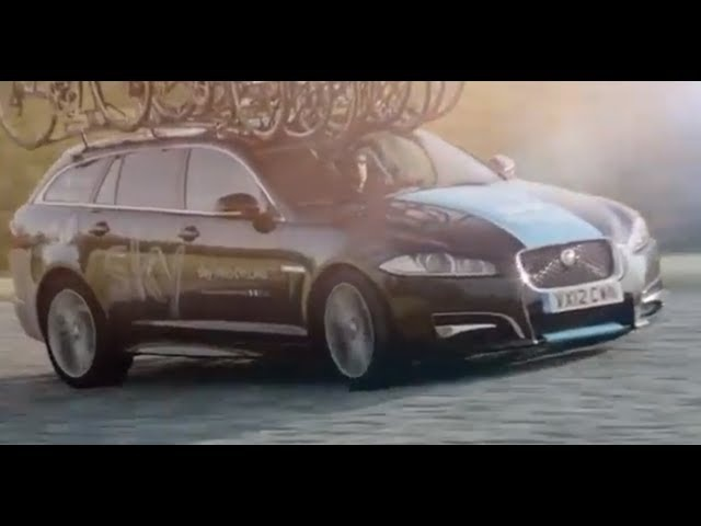 <em>Jaguar</em> XF Sportbrake 2013 Tour De France Commercial Carjam TV HD Car TV Show