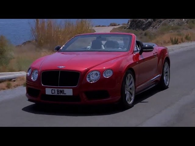 <em>Bentley</em> Continental V8 S Convertible HD Walk Around Driving Interior Commercial 2014 Carjam TV
