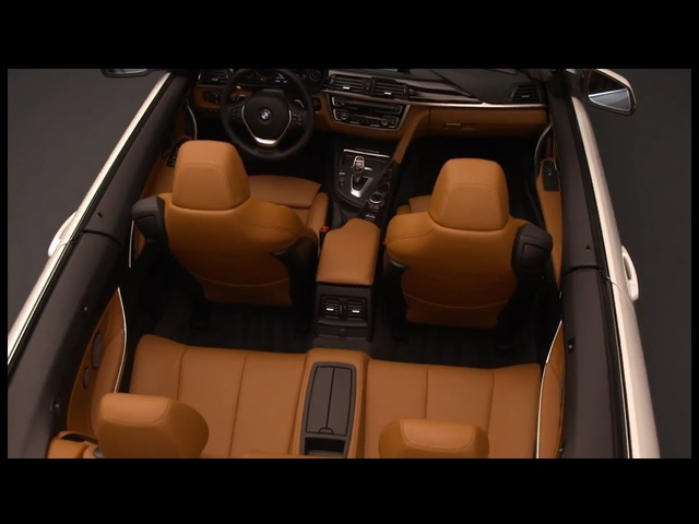 BMW 4 Series Interior Convertible F33 2014 HD In Detail Commercial New 3 Series Carjam TV