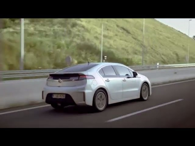 New Chevy Volt 2013 Opel Ampera Electric Car Commercial Carjam Car TV HD