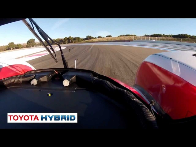 Listen To <em>Toyota</em> Hybrid Race Car Start Up Le Mans Commercial  - New Carjam Car Radio Show 2012