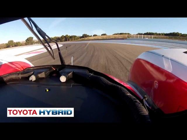 Listen To <em>Toyota</em> Hybrid Race Car Start Up Le Mans Commercial  -New Carjam Car Radio Show 2012