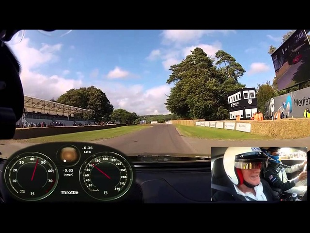2014 Bentley Continental GT Speed Full Hillclimb Goodwood Festival of Speed Carjam TV 2014
