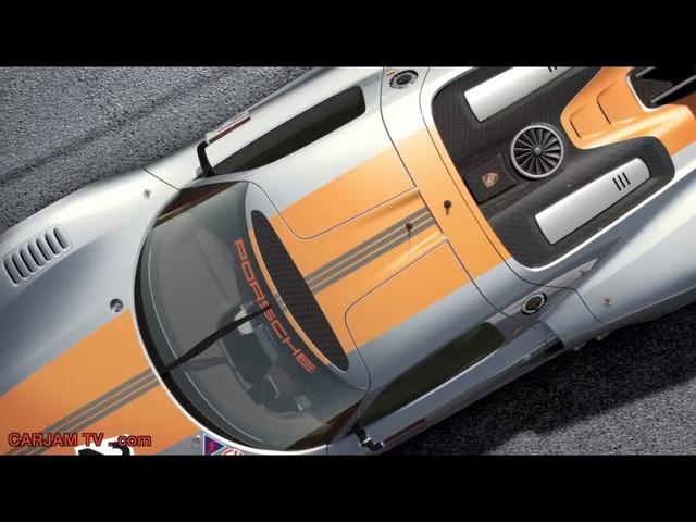 Porsche 918 RSR Origins 918 Spyder Commercial 2014 Carjam TV HD