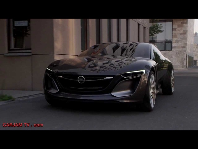 Opel Monza HD Driving Scenes Hybrid Gullwing Commercial 2014 <em>GM</em> Concept Electric Car Carjam TV HD