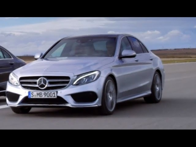 Mercedes C Class 2014 Driving New C250 C300 W205 In Detail Commercial HD 2014 Carjam TV HD