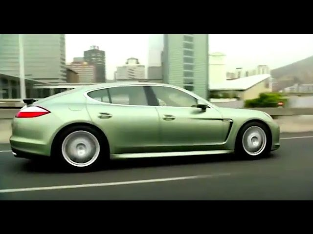 Porsche Panamera S Hybrid 2011 World Premiere Video CARJAM TV
