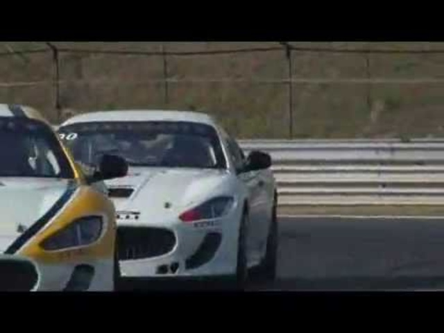 New Maserati GranTurismo Trofeo 2011 Round 3 Hungaroring Highlights - Carjam Radio