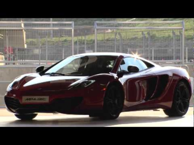 Carjam: New McLaren MP4-12C GT3 2011 Official Launch