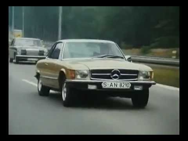 <em>Mercedes</em> SLC C107 Commercial Classic TV Ad - Carjam TV Show About Cars 2013