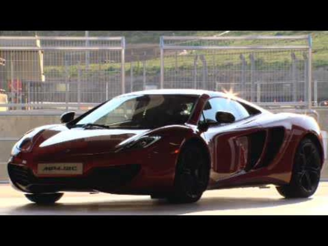 New McLaren MP4-12C GT3 2011 Race Car Launch On Road Review - Carjam Radio