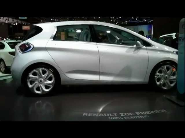 <em>Renault</em> ZOE 2012 Electric Car Concept Commercial - New Carjam Radio Show