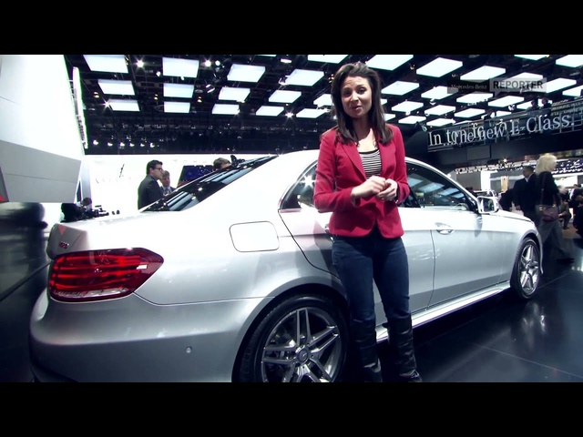 2013 <em>Mercedes</em> New E-Class In Detail Wold Debut Commercial Carjam TV HD Car TV Show