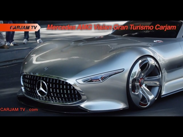 Mercedes AMG Vision Driving HD GT6 Design Playstation Commercial Carjam TV HD Car TV Show