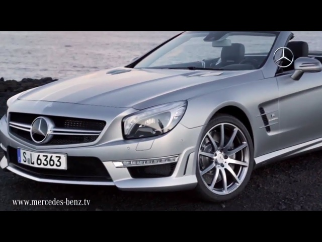 Mercedes SL63 AMG R231 Debut Commercial In Detail Driving - CARJAM TV HD