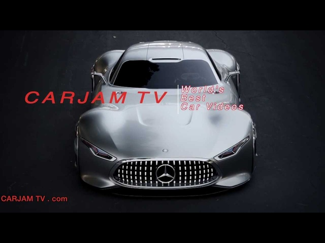 <em>Mercedes</em> AMG Vision Exterior In Detail HD GT6 Design Playstation Commercial Carjam TV HD Car TV Show