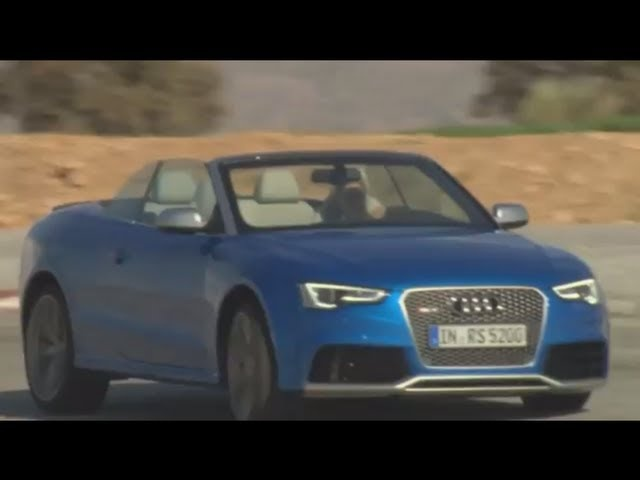 New <em>Audi</em> RS 5 Cabriolet 2013 Engine Start Sound Commercial Carjam TV HD