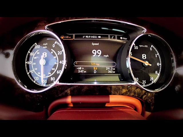 <em>Bentley</em> Mulsanne 2013 Top Speed Commercial Visionaries Future of Speed Record Carjam TV HD