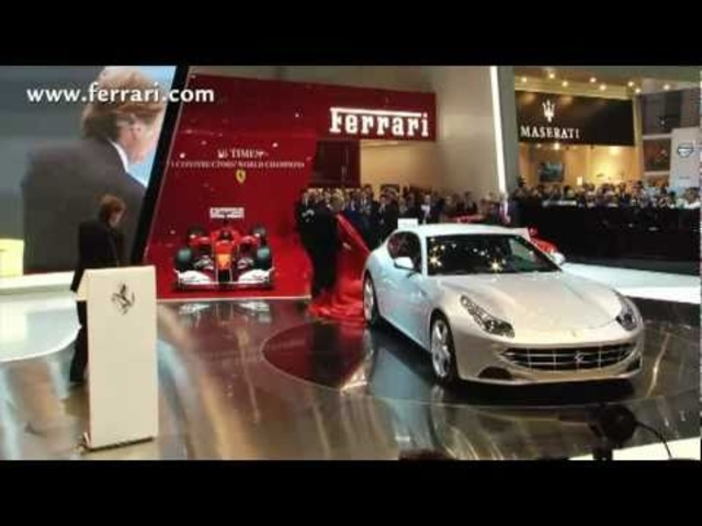New <em>Ferrari</em> FF Geneva 2011 -Carjam Car Radio Show 2012